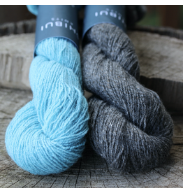 For Yarn's Sake, LLC Shibui Duality Shawl Kit, Crete and Tar