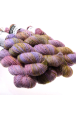 Hedgehog Fibres Hand Dyed Yarns Skinny Singles, Aroma (Discontinued Color)