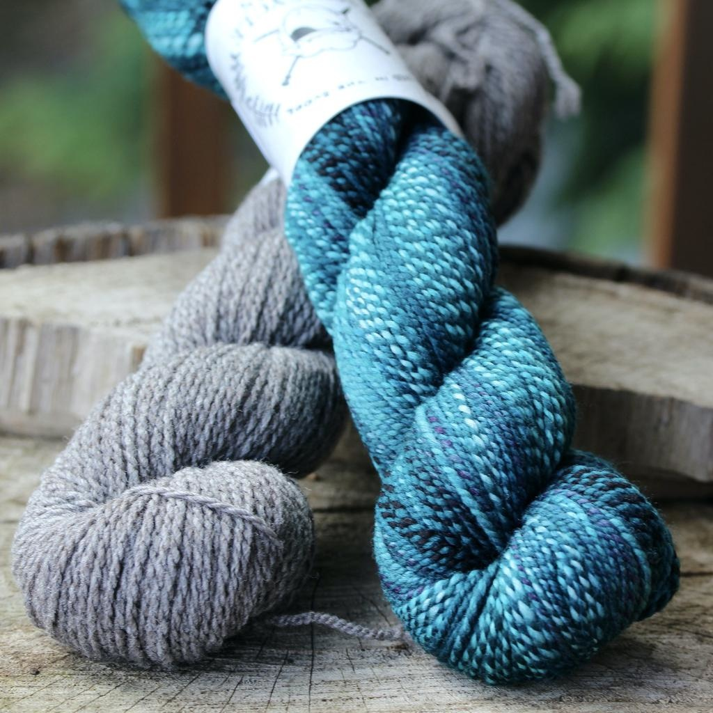 Spincycle Yarns Dyed In The Wool, Across the Pond Kit, Melancholia