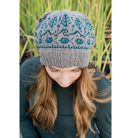 For Yarn's Sake, LLC McKenzie Hat Kit, Melancholia