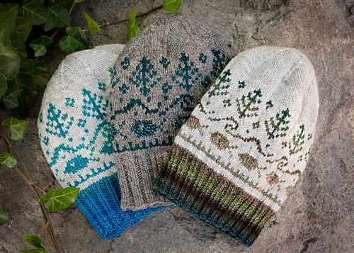 For Yarn's Sake, LLC McKenzie Hat Kit, Melancholia