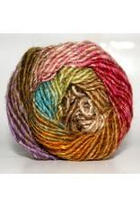 Noro Silk Garden, Browns, Blues, Deep Rose color 279 (Retired)