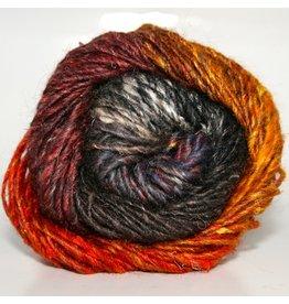 Noro Silk Garden, Burnt Orange, Wine, Greys, Taupe color 349