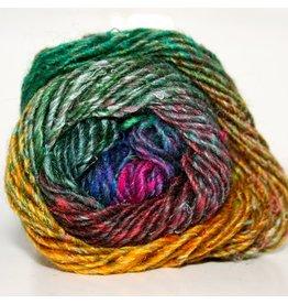 Noro Silk Garden, Jade, Gold, Magenta color 362 (Discontinued)