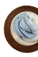 Delicious Yarns Frosting Fingering, Frosty *CLEARANCE*
