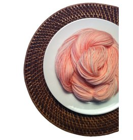 Delicious Yarns Frosting Fingering, Peach *CLEARANCE*