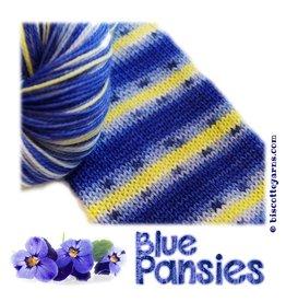 Biscotte & Cie Bis-Sock, Blue Pansies