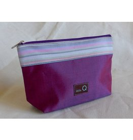 della Q Zip Pouch - Small, Purple