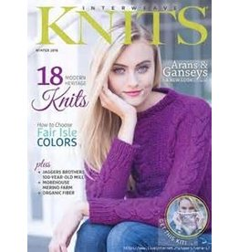 Interweave Interweave Knits, Winter 2016 *CLEARANCE*