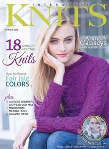 Interweave Interweave Knits Winter 2016 Clearance For Yarn S
