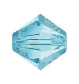 Rowan SHINE Swarovski Beads - 4mm, Aquamarine Selection