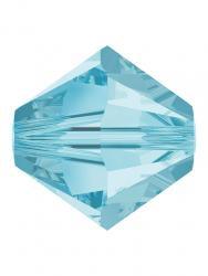 Rowan SHINE Swarovski Beads - 6mm, Aquamarine Selection