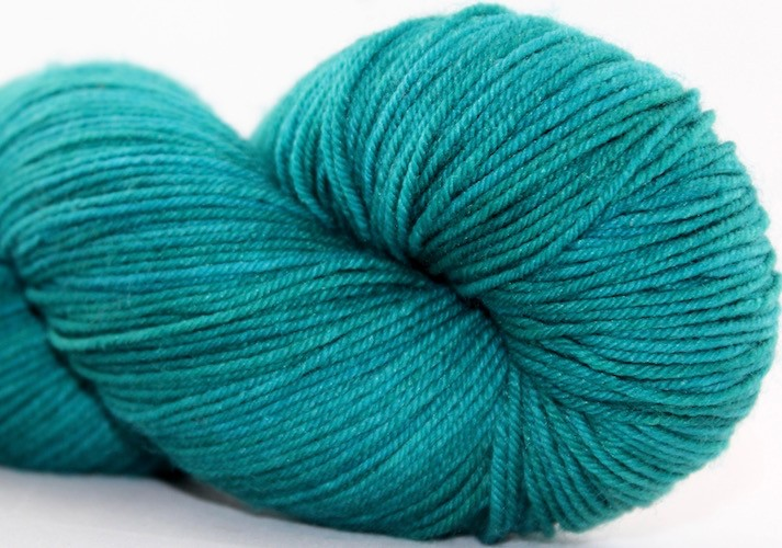 Knitted Wit Sock, Kiss & Teal