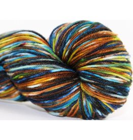 Knitted Wit Sock, Enchanted Forest