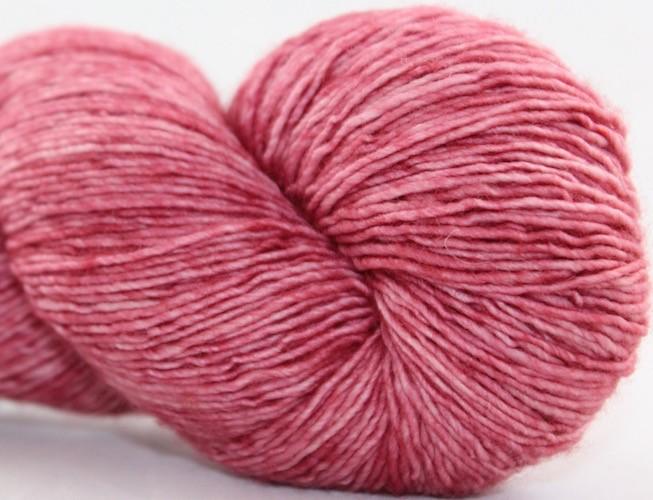 Knitted Wit Single Fingering, Dusty Rose