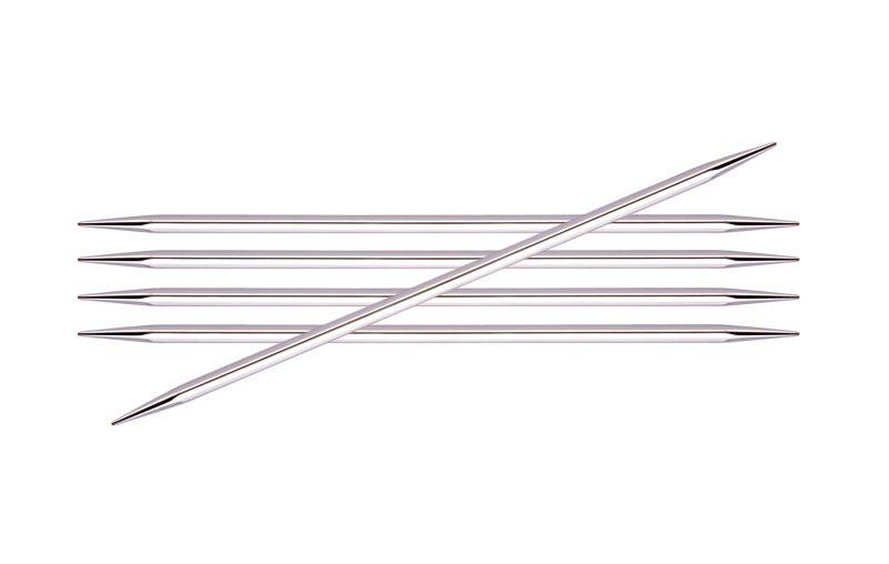 Knitters Pride Nova Cubics Platina Double Point Needle Set