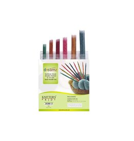 Knitters Pride Dreamz Double Point Needle Set, 6-inch