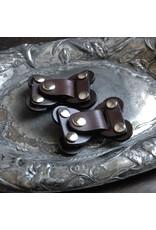 Jul Designs The Lock Toggle Closure - Chocolate