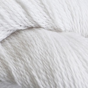 Cascade Yarns 220 Fingering, White Color 9471