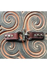 Jul Designs Closure Lisbon Leather Trigger Lock - Chocolate Brown