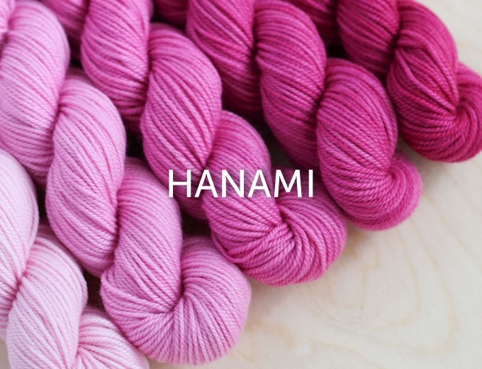 Sweet Georgia Party of 5 - Tough Love Sock, Hanami