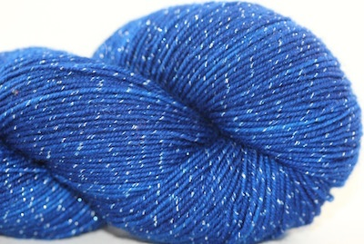 Knitted Wit Pixie Plied, Blue