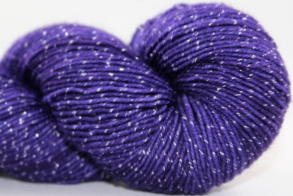 Knitted Wit Pixie Plied, Tanzanite
