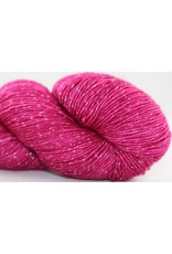 Knitted Wit Pixie Plied, Raspberry Milkshake