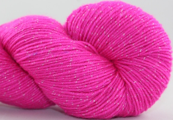 Knitted Wit Pixie Plied, Haute Pink