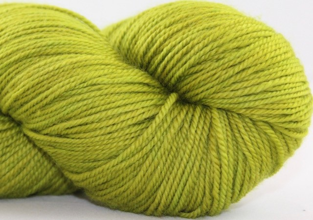 Abstract Fiber Temptation Sock, Lichen *CLEARANCE*