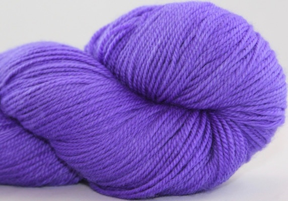 Abstract Fiber Temptation Sock, Periwinkle *CLEARANCE*