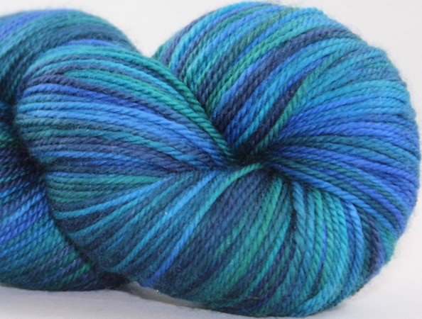 Abstract Fiber Temptation Sock, Pacific *CLEARANCE*