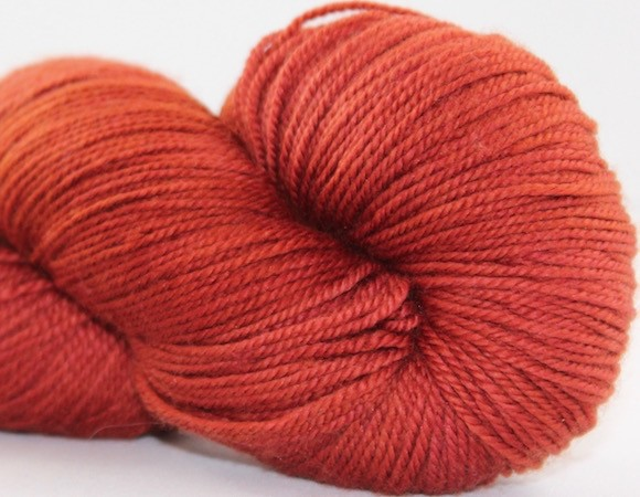 Abstract Fiber Temptation Sock, Rosewood *CLEARANCE*