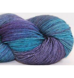 Huckleberry Knits Yak Silk Merino, Under the Sea