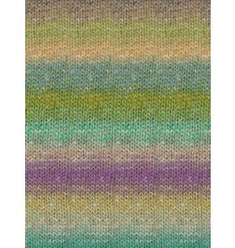 Noro Silk Garden Sock, Penelope's Garden Color 437 (Retired)