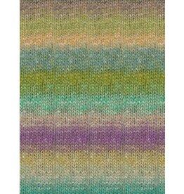 Noro Silk Garden Sock, Penelope's Garden Color 437
