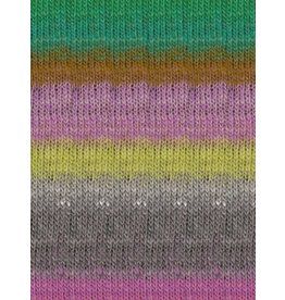 Noro Kureopatora, Grey, Pink, Green Color 1030