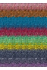 Noro Kureopatora, Reds, Blues, Lemon Color 1033