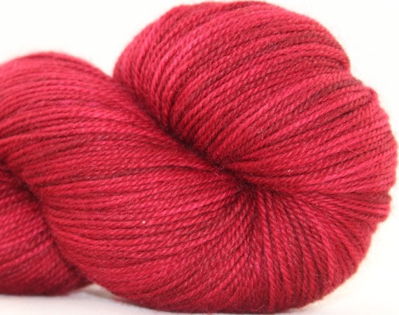 Huckleberry Knits Willow, Garnet