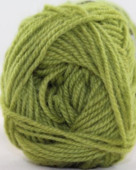 Rauma Strikkegarn 3ply, Color 198 (Yellow Green)