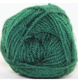 Rauma Strikkegarn 3ply, Color 123 (Dark Forest Green)