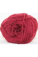 Rauma Strikkegarn 3ply, Color 128 (Cranberry Red)