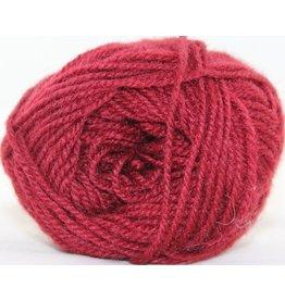 Rauma Designs Strikkegarn 3ply, Color 128 (Cranberry Red)