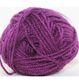 Rauma Designs Strikkegarn 3ply, Color 141 (Red Violet)