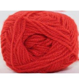Rauma Strikkegarn 3ply, Color 124 (Bright Red)