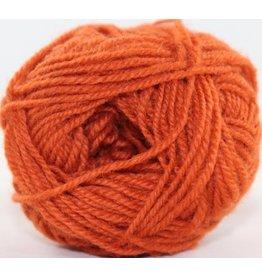 Rauma Designs Strikkegarn 3ply, Color 177 (Dark Red Orange)