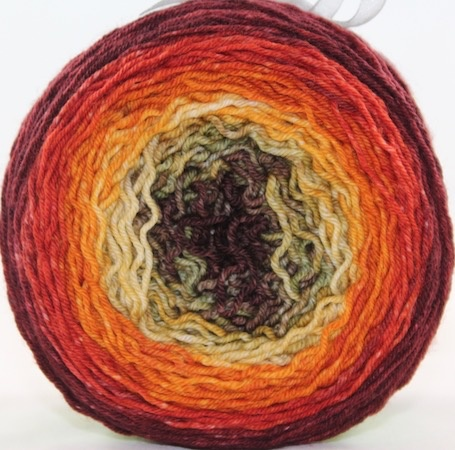 Huckleberry Knits Gradient, Breath of Autumn
