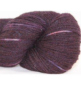 Little Gidding Farm Suri Sock, Eggplant