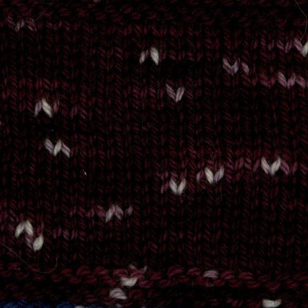 Swans Island Natural Colors Collection, Fingering, IKAT- Firefly, Elderberry