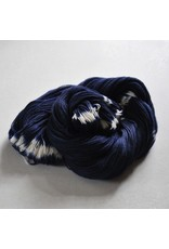 Swans Island Natural Colors Collection, Fingering, IKAT- Firefly, Sapphire